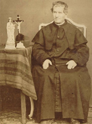 saint john bosco Want to know more the old catholic encyclopedia entry is a good place to start another good intro at the ewtn site i wrote about him in the loyola kids book of saints (you can click on individual images to get a clearer view.